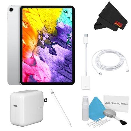 "Apple 11"" iPad Pro (64GB, Wi-Fi Only, Silver) Plus Bundle"
