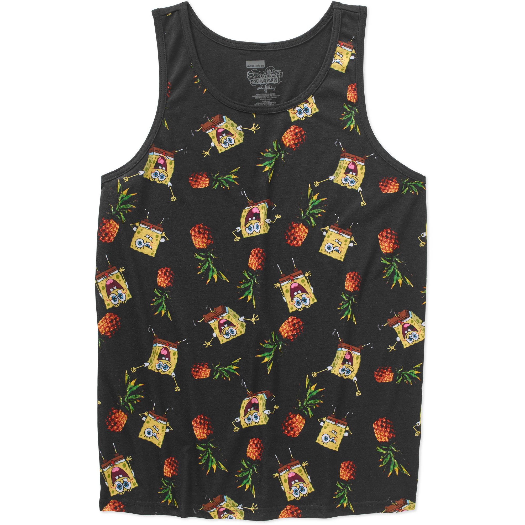 Spongebob Men's Graphic Licensed Tank
