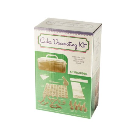 cake decorating kit with caddy lot of 2. Black Bedroom Furniture Sets. Home Design Ideas