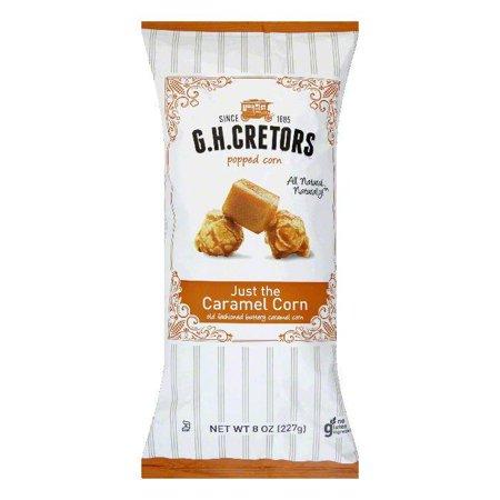 GH Cretors Popcorn Just Caramel Corn, 8 OZ (Pack of 12)