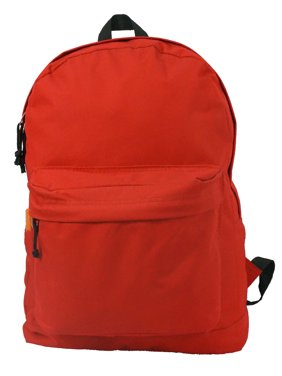 cf078f3ea713 Product Image Backpack Classic School Bag Basic Daypack Simple Book Bag 16  Inch Red
