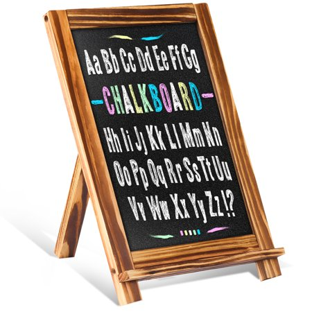 Famistar Vintage Wooden Standing Chalkboard Decorative Restaurant Message Board For Rustic WeddingPresentation