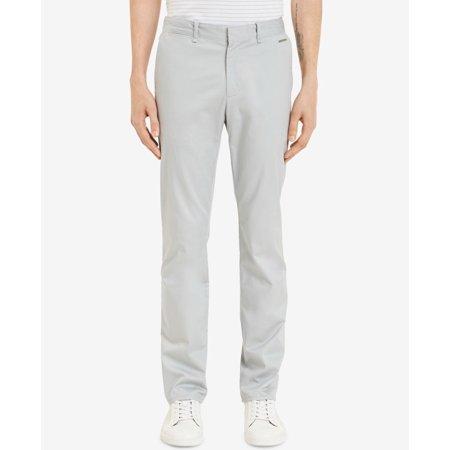 Calvin Klein Mens Dress Flat Front Stretch Pants