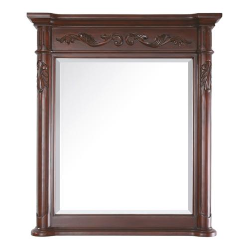 AVANITY Provence Antique Cherry Framed Mirror by Overstock