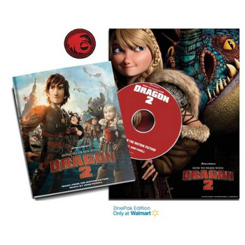 How To Train Your Dragon 2 ZinePak (Walmart Exclusive) Soundtrack