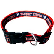 Pets First MLB Detroit Tigers Dogs and Cats Collar - Heavy-Duty, Durable & Adjustable - Large