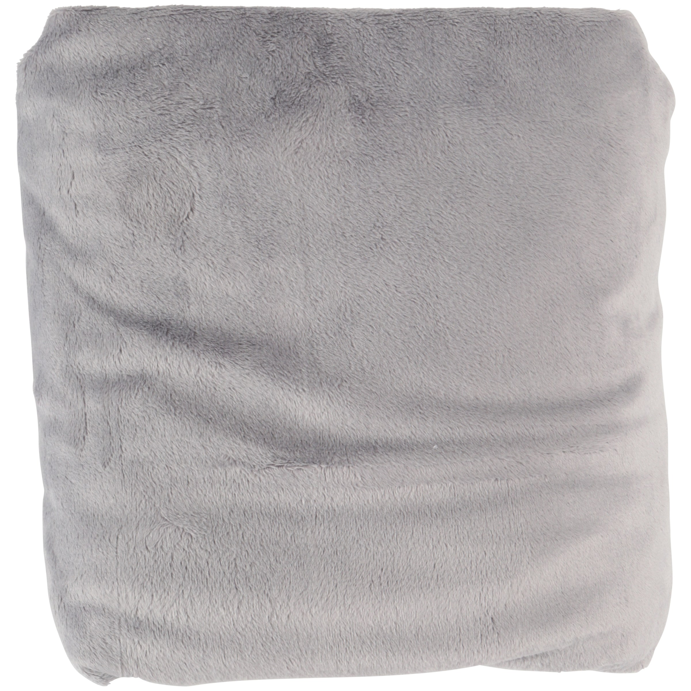 TL Care® Heavenly Soft Chenille Gray Fitted Crib Sheet