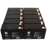 SPS Brand 12V 7 Ah Replacement Battery  for onic STATION 40 UPS (10 PACK)