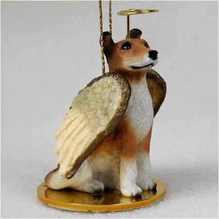 Collie, Smooth Coat Tiny Ones Dog Angels (2 in), Each figurine is carefully hand painted for that extra bit of realism. By Conversation Concepts Ship from US