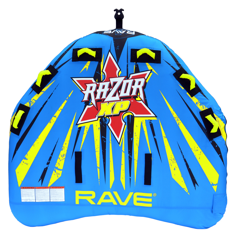 The Amazing Quality RAVE Razor XP Towable by