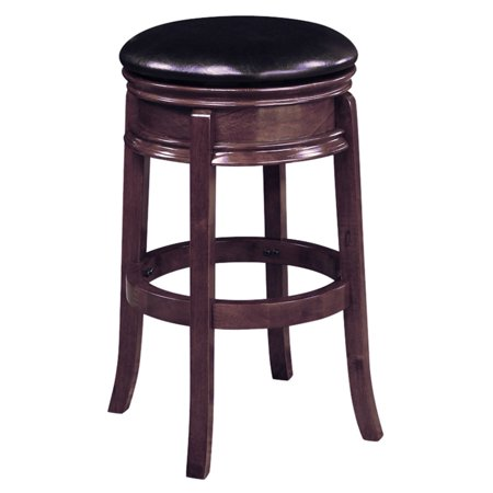 Boraam Magellan 29 In Backless Swivel Bar Stool Cappuccino Walmart Com