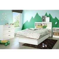 South Shore Smart Basics 3-Drawer Dresser, Black