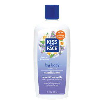 Organic Hair Care Paraben Free Big Body Conditioner Kiss My Face 11 oz Liquid