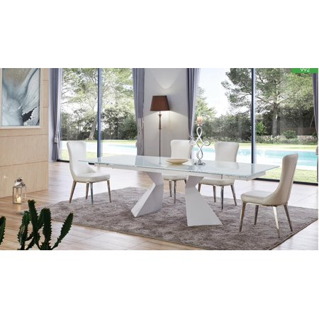 Esf 992 Dt 6138 Chair White Dining Room Set Style Collection Made In Italy 7pcs