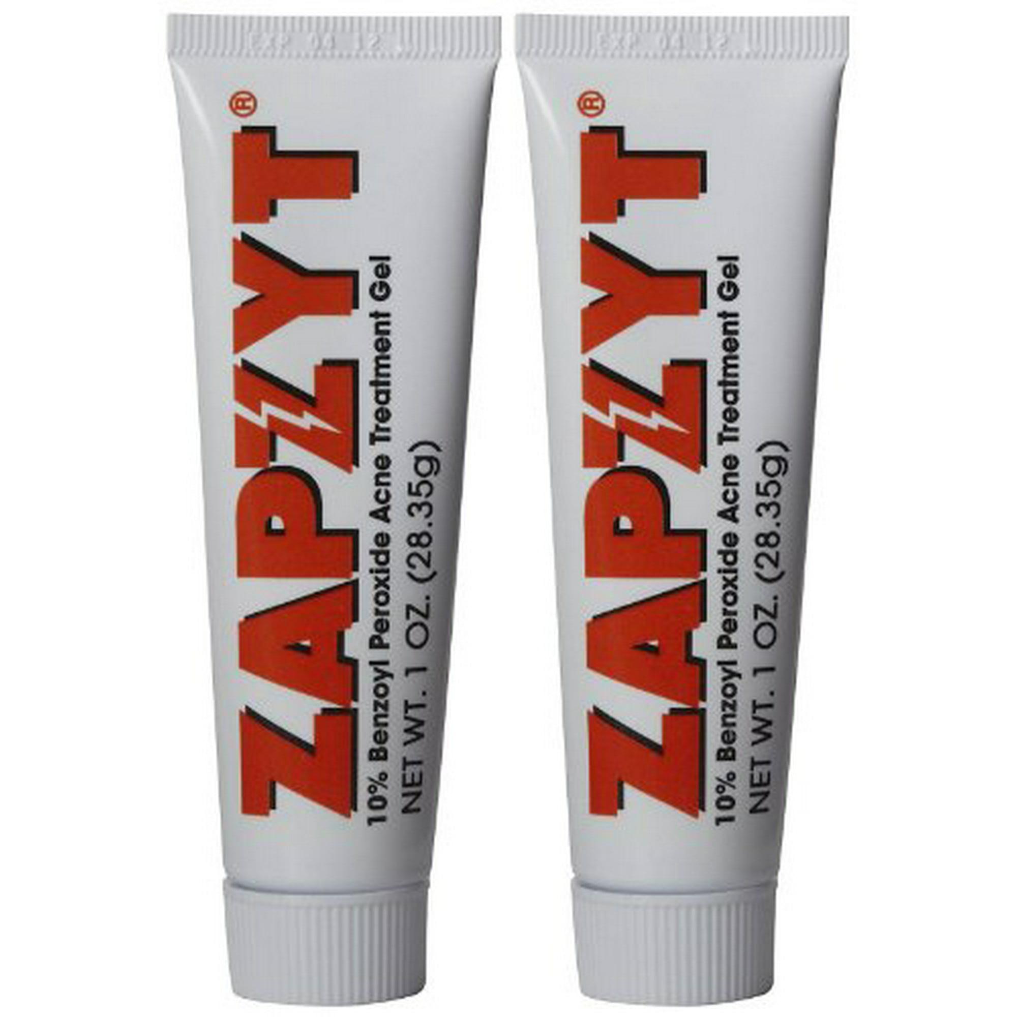 Zapzyt Acne Treatment Gel 1 Oz 2 Pk Walmart Canada