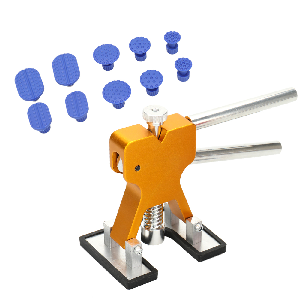 11pcs Suction Drawing Tool of Cars Paintless Dent Repair Tools Kit Suit of Auto