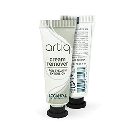 Artiq Eyelash Extension Bond Glue Cream Removere Tube 0.35oz, Excellent for Sensitive