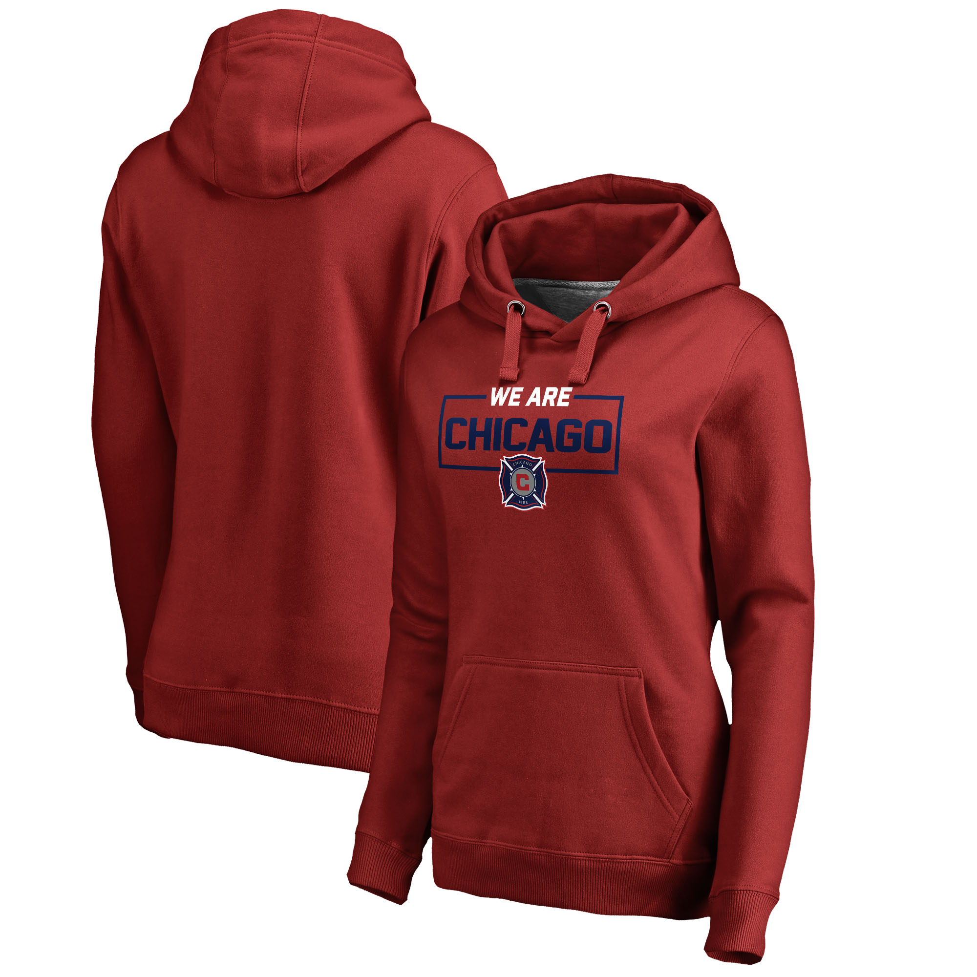 Chicago Fire Fanatics Branded Women's We Are Pullover Hoodie - Red
