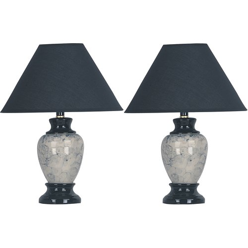 Charlton Home Merle 15'' Table Lamp (Set of 2)