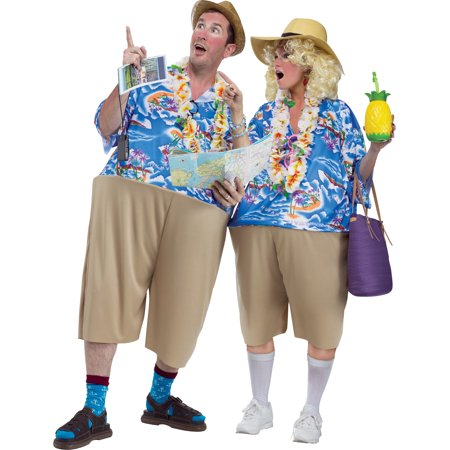 Tacky Tourist Unisex Adult Halloween (Unisex Costumes)