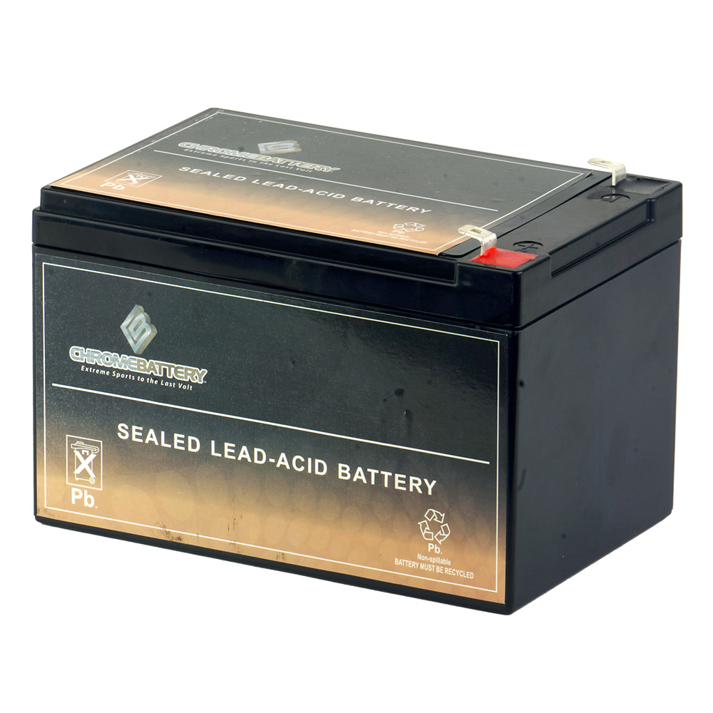 12V 12Ah SLA Replacement Battery for Mongoose CR36V450 Electric Bike
