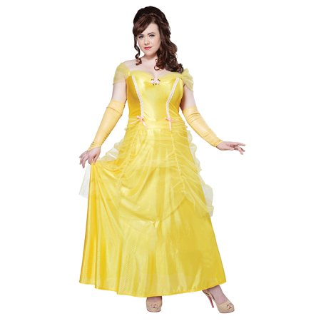 Adult Plus Size Classic Beauty Princess Costume By California