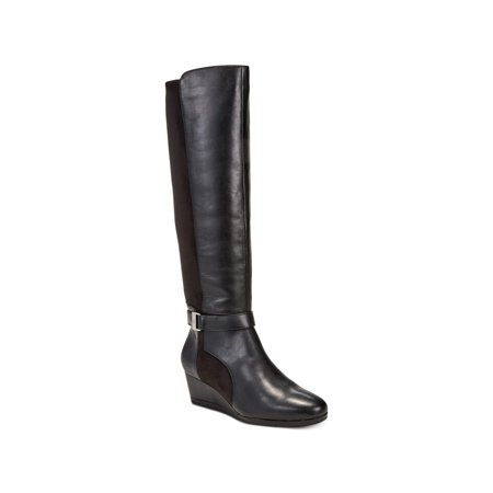 Womens Cathrin Closed Toe Over Knee Fashion Boots