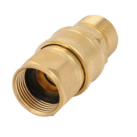 Unique Bargains Water Stop Pipe Connector Coupler Adapter Set for Washer Washing (Rehau Water Stop Connector)