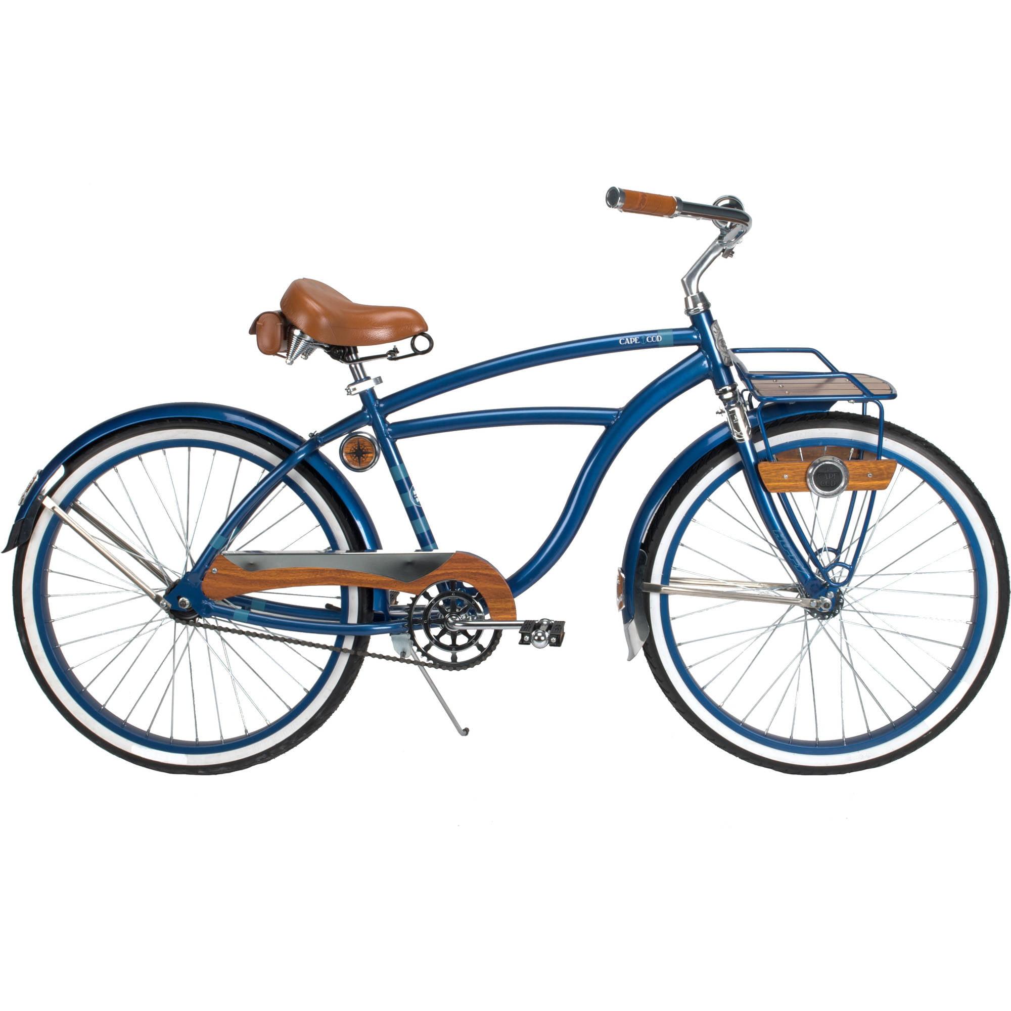 "26"" Huffy Cape Cod Men's Cruiser Bike, Metallic Blue"
