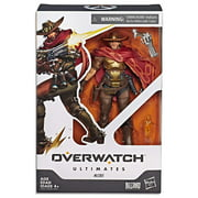 Overwatch Ultimates Series McCree 6-Inch-Scale Collectible Video Game Character Action Figure with Accessories