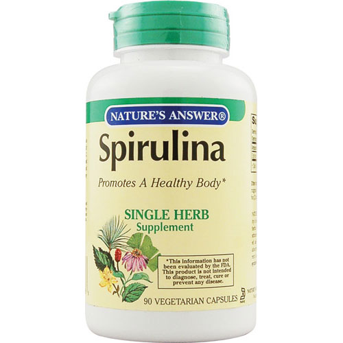 Natures Answer Spirulina For Healthy Body - 90 Capsules