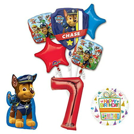 The Ultimate Paw Patrol 7th Birthday Party Supplies And Balloon Decorations