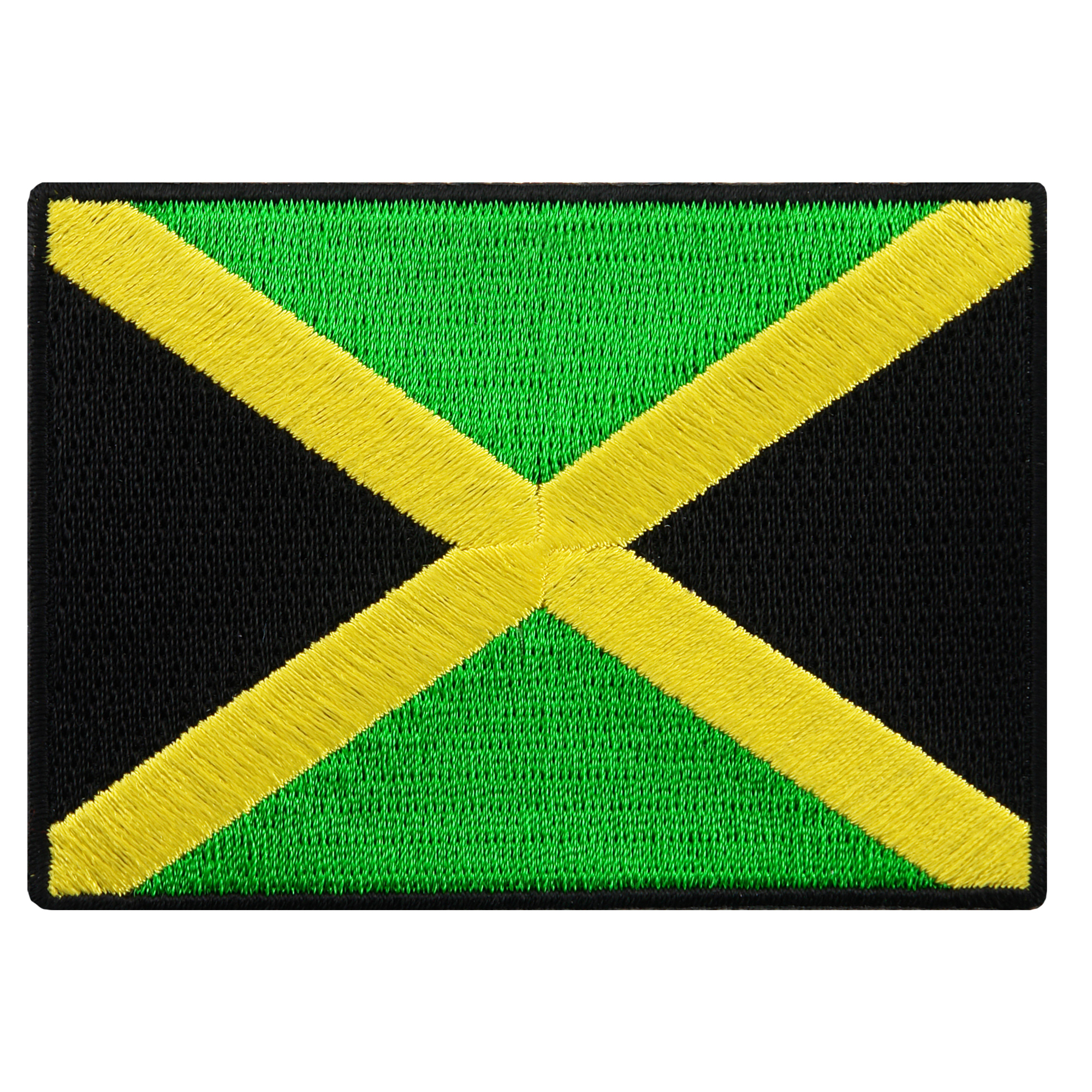 Jamaica Flag Embroidered Iron-on Patch