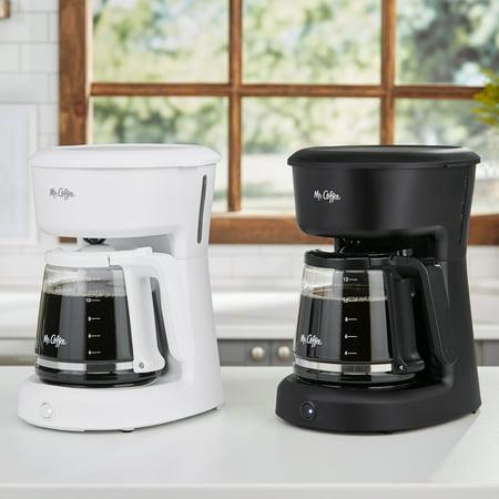 Mr. Coffee 12 Cup Switch Coffee Maker, Black