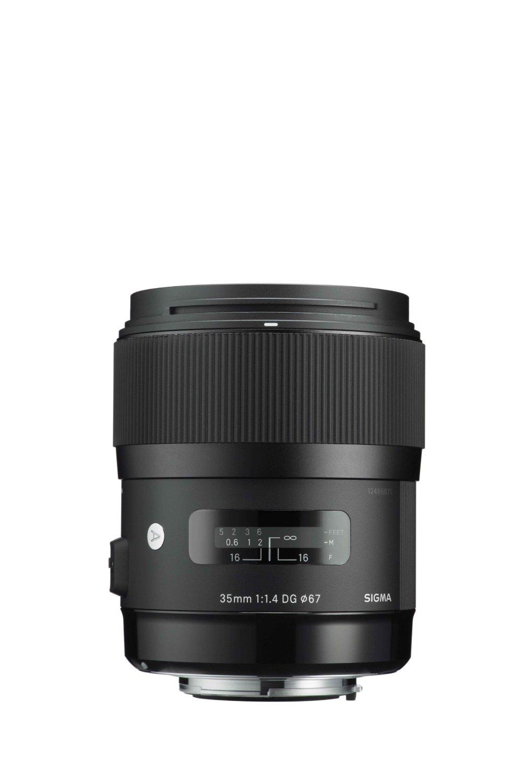 Iluminacion Para Camara Sigma 340101 35mm F1.4 DG HSM lente para Canon (negro) + Sigma en Veo y Compro