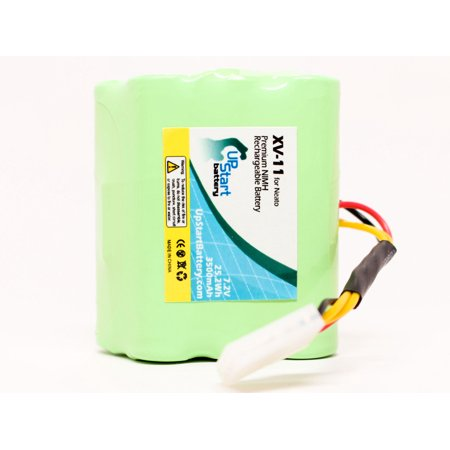 Neato XV-11 Battery, Filters, Blades and Squeegee - Kit Includes Neato Battery, 2 Filters, 6 Blades and 1 Squeegee (3500mAh, 7.2V, NI-MH) - image 2 de 4