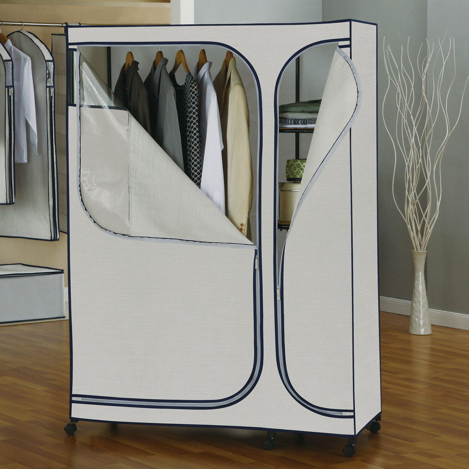 Storage Closet Armoire Wardrobe - Walmart.com - Walmart.com