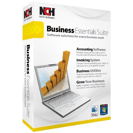 Nch Software Ret Be001 Business Essentials Win Mac Crom Accounts Invoicing Inventory Pos