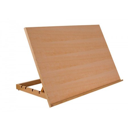 - SoHo Urban Artist Drawing Board Extra Large Adjustable Solid Wood for Painting & Sketching, Art Easel- Natural Beechwood Finish 19.75