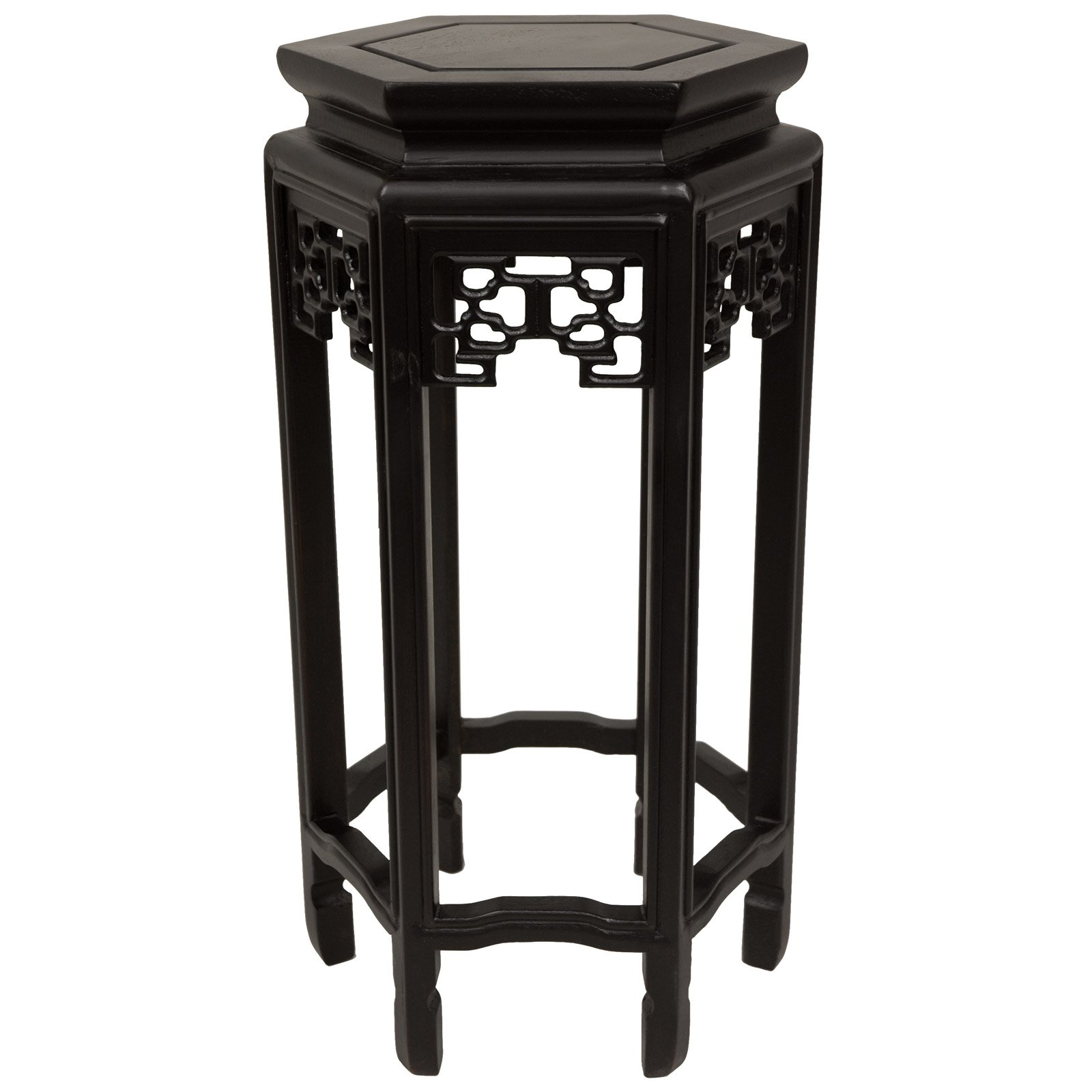 "20"" Hexagon Plant Stand by Oriental Unlimited, Inc."