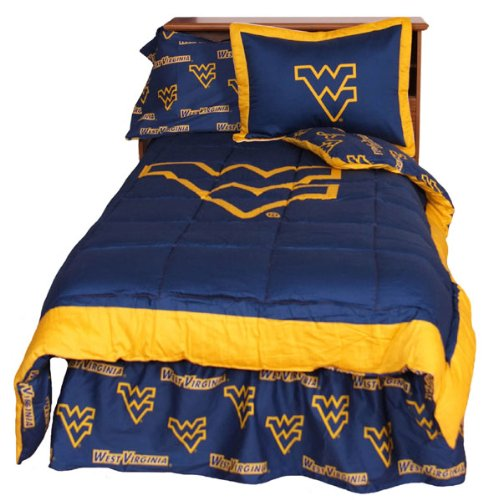 West Virginia Reversible Comforter Set -King