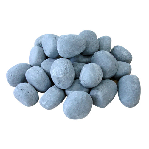 Ignis Products 24 Piece Ceramic Fireplace Pebble Set