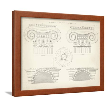Greek and Roman Architecture VIII Framed Print Wall Art By Thomas Kelly for $<!---->