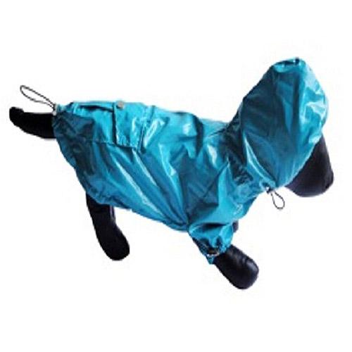 Flirty Paws Blue Rain Coat