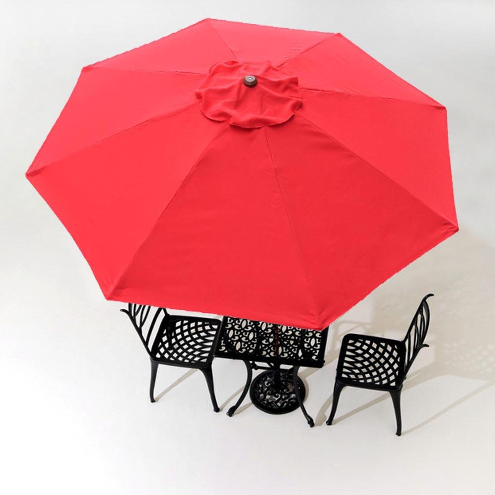 8Ft 8 Ribs Patio Umbrella Replacement Canopy Outdoor Cover Top Color  Optional   Walmart.com