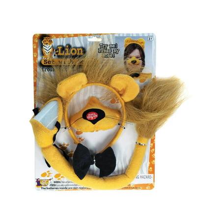 Adult Lion Set with Sound (Lion Make Up)
