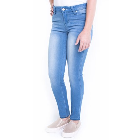 962da8b795f Planet Pink - Girls  7-16 Super Soft Skinny Jeans - Walmart.com