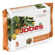 Jobes 1002 Fruit & Citrus Fertilizer Spikes 9-12-12 5 Pack