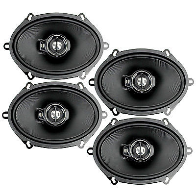 """Kenwood 2 Pairs of KFC-C5795PS 5x7"""" Inches 3-Way 320W Car Speakers"""