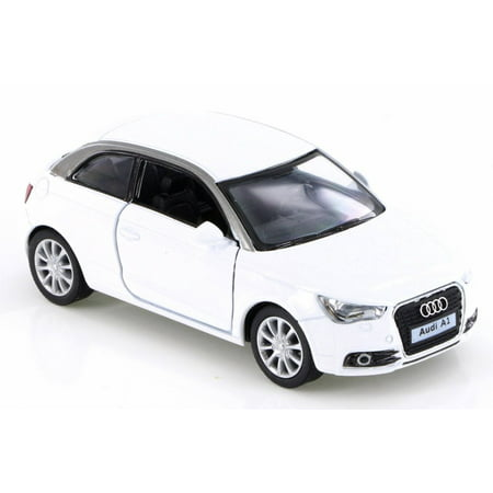 2010 Audi A1, White - Kinsmart KT5350D - 1/32 Scale Diecast Model Toy Car (Brand New but NO BOX)